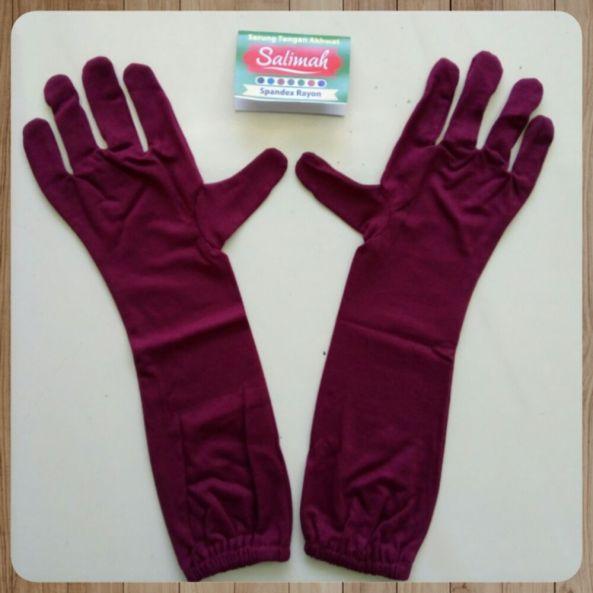 sarung tangan muslimah touchscreen murah