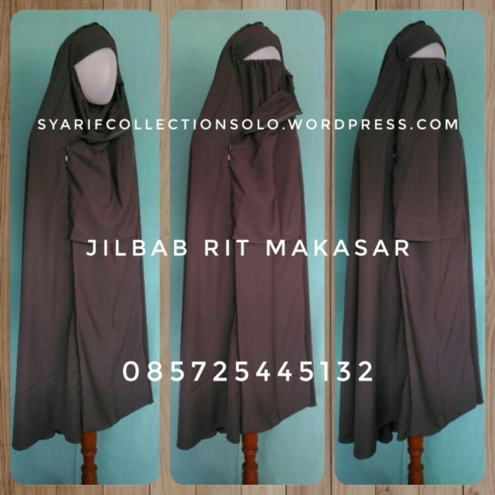 produsen pusat jual jilbab rit makassar murah